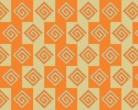 alternate art greeks orange pattern pop yellow Στοκ Φωτογραφίες
