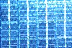 Alternate energy-solar panel. Modern solar cell generating alternate energy Stock Photo