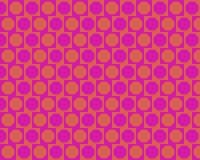 alternated art magenta octagons op orange απεικόνιση αποθεμάτων