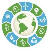 Alternatieve Energie Stock Foto's
