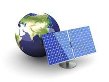 Alternatieve Energie - Azië Stock Fotografie