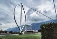 Alternatieve energie door moderne technologie royalty-vrije stock foto's