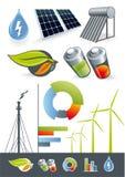 Alternatieve energiebronnen Royalty-vrije Stock Foto's