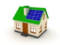 Alternatieve energieconcept stock illustratie