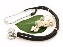 Alternatieve geneeskunde Stock Afbeeldingen