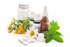 Alternatieve geneeskunde Royalty-vrije Stock Afbeeldingen