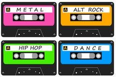 Alternatieve muziek vector illustratie
