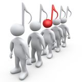 Alternatieve Muziek Stock Foto