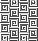 Alternating black and white cut rounded squares Royalty Free Stock Images