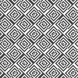 Alternating black and white diagonally cut squares with turn Royalty Free Stock Photo
