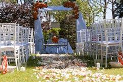 Alternativ bröllopceremoni Royaltyfria Bilder