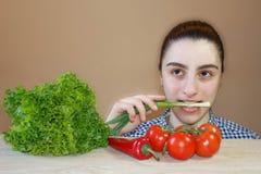 Alternativ en mänsklig näring och en hälsa Sund matfärgläggning Royaltyfria Bilder