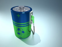 alternativ energi Arkivfoton