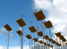 alternativ energi Arkivbild