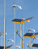 alternativ energi Arkivbilder