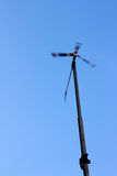 Alternativ energi för bred turbin arkivfoto