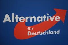 Alternativ för politiskt parti för Tyskland AFD royaltyfria bilder