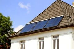 Alternativ förnybara energikällorutveckling Fotografering för Bildbyråer