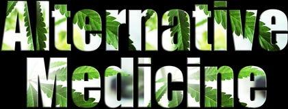 Alternativ medicin Logo High Quality arkivbilder