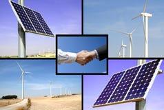 alternativa energier royaltyfria foton