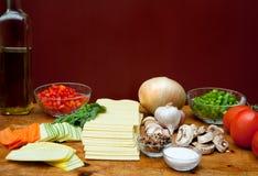 Alternativas saudáveis Imagens de Stock