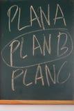 Alternative business plan Stock Photo