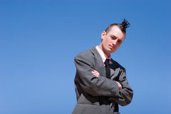 Alternative businessman Stock Photography