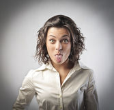 Alternative businesswoman Stock Photos