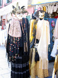 Alternative Clothing. Masks, Venice, Italy royalty free stock photo