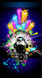 Alternative Discoteque Music Flyer Stock Photography