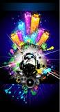 Alternative Discoteque Music Flyer Stock Photography