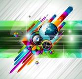 Alternative Discoteque Music Flyer Stock Image