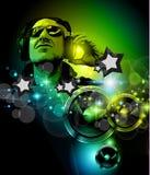 Alternative Discoteque Music Flyer Stock Photos