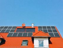 Alternative Energie Stockfoto