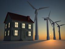 Alternative energy Royalty Free Stock Photos