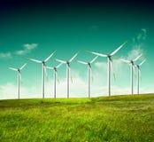 Alternative energy. Green ecology,Alternative energy-conceptual image Stock Photos