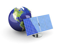Alternative Energy - America Royalty Free Stock Photography
