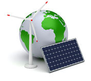 Alternative Energy Royalty Free Stock Images