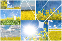 Alternative energy concept Stock Photography