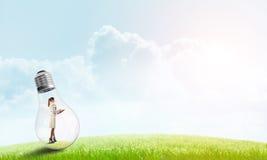Alternative energy concept Royalty Free Stock Image
