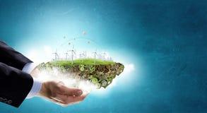 Alternative energy concept Stock Photography