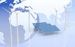 Alternative Energy Concept. Royalty Free Stock Image