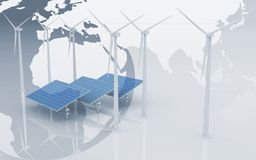 Alternative Energy Concept royalty free stock photography