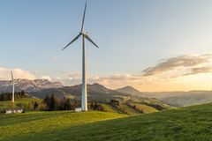 Alternative, Energy, Countryside Stock Images