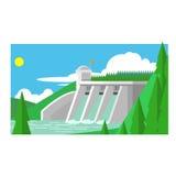 Alternative Energy Dam Royalty Free Stock Image