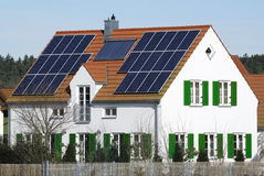 Alternative energy house Royalty Free Stock Photo