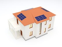 Alternative Energy House Stock Image