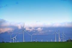 Alternative Energy Landscape Royalty Free Stock Photos