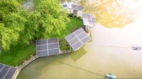 Alternative energy nature in park land.  Stock Photos