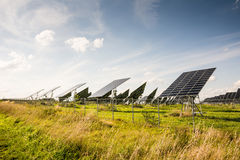 Alternative Energy with Photovoltaic Royalty Free Stock Photos